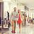 compras · centro · moda · caminando · tienda - foto stock © dolgachov