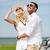 gelukkig · man · vrouw · auto · zee - stockfoto © dolgachov