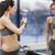 фитнес · женщину · автопортрет · тренировки · спорт · спортсмена - Сток-фото © dolgachov