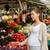 妊婦 · 自然食品 · 肖像 · プレート · 食品 - ストックフォト © dolgachov