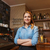 happy barista woman at coffee shop stock photo © dolgachov