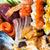 ayarlamak · farklı · sushi · balık · yeşil · Japon - stok fotoğraf © dolgachov