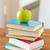 zöld · alma · tankönyv · öreg · iskolatábla · copy · space - stock fotó © dolgachov