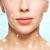 yüz · genç · kadın · alın · botox · tedavi · güzellik - stok fotoğraf © dolgachov