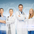 young team or group of doctors stock photo © dolgachov