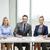 mutlu · iş · ekibi · kağıtları · ofis · kişi · kurumsal · toplantı - stok fotoğraf © dolgachov