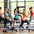 grup · gülen · kadın · spor · salonu · uygunluk - stok fotoğraf © dolgachov