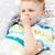 ребенка · мальчика · кашлять · грипп · другой · зима - Сток-фото © dolgachov