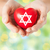 kobiet · ręce · serca · star · religii - zdjęcia stock © dolgachov