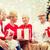 улыбаясь · семьи · подарки · домой · праздников · поколение - Сток-фото © dolgachov