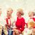 abuelos · hablar · nietos · familia · nina · hombre - foto stock © dolgachov