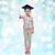 menina · feliz · bacharel · seis · infância · escolas · educação - foto stock © dolgachov