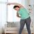 plus · size · kobieta · domu · fitness - zdjęcia stock © dolgachov