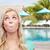 szczęśliwy · młoda · kobieta · guma · ludzi - zdjęcia stock © dolgachov