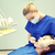 dentiste · Kid · dents · dentaires · clinique · médecine - photo stock © dolgachov