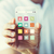 mannelijke · hand · transparant · smartphone · mensen - stockfoto © dolgachov
