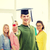 feliz · estudantes · graduação · sorridente · outro - foto stock © dolgachov