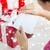 kadın · mektup · hediyeler · tatil · iletişim - stok fotoğraf © dolgachov