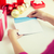 zarf · mektup · kırmızı · kâğıt · neşeli · Noel - stok fotoğraf © dolgachov