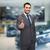 zakenman · geslaagd · deal · achtergrond · zakenman - stockfoto © dolgachov