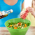 família · feliz · cozinhar · salada · cozinha · comida - foto stock © dolgachov