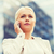serious businesswoman with smartphone outdoors stock photo © dolgachov