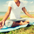 moço · ioga · ao · ar · livre · fitness · esportes - foto stock © dolgachov