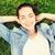 jovem · prado · jovem · verão - foto stock © dolgachov