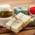 rácsok · szappan · fürdősó · törölköző · szépség · bár - stock fotó © dolgachov