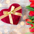 Rood · tulp · bloemen · hart · geschenkdoos · boeket - stockfoto © dolgachov
