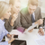 бизнес-команды · обсуждение · бизнеса · технологий · служба - Сток-фото © dolgachov