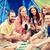 mosolyog · férfi · turista · elvesz · okostelefon · turisztikai - stock fotó © dolgachov
