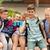 feliz · escuela · primaria · estudiantes · toma · primario · educación - foto stock © dolgachov