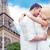 ロマンチックな · キス · パリ · 幸せ · 愛 - ストックフォト © dolgachov