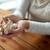 kobieta · ręce · czosnku · zdrowia · ludzi - zdjęcia stock © dolgachov