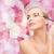 beautiful woman with makeup brush stock photo © dolgachov