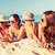 笑みを浮かべて · 若い女性 · ビーチ · 夏 · 休日 - ストックフォト © dolgachov