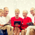 gelukkig · gezin · computers · eengezinswoning · technologie · mensen - stockfoto © dolgachov