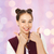 happy pretty teenage girl showing thumbs up stock photo © dolgachov