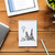 close up of notebook laptop and tablet pc on wood stock photo © dolgachov