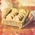 közelkép · karácsony · zab · sütik · fa · asztal · sütés - stock fotó © dolgachov