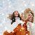 зима · пару · счастливым · комбинированный · снега · улыбаясь - Сток-фото © dolgachov