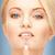 geen · meer · acne · heldere · portret - stockfoto © dolgachov