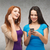 два · улыбаясь · подростков · технологий · дружбы - Сток-фото © dolgachov