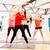 souriant · femmes · yoga · classe · fitness - photo stock © dolgachov