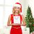 белый · красный · рождественская · елка · пустой · комнате · украшенный - Сток-фото © dolgachov