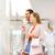 boldog · pár · bevásárlótáskák · bolt · ablak · vásár - stock fotó © dolgachov