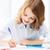 öğrenci · ödev · düşünme · çocuklar · okuma - stok fotoğraf © dolgachov