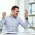 stress · imprenditore · chiamando · telefono · lavoro · fumo - foto d'archivio © dolgachov