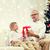 улыбаясь · деда · внук · домой · семьи · праздников - Сток-фото © dolgachov